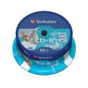 Диск Verbatim CD-R 700МБ 52x SuperAzo Photo Printable 43439