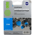 Картридж Cactus Картридж CACTUS  CS-EPT0542 для Epson Stylus Photo R800 R1800 голубой 165мл