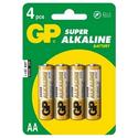 Элемент питания GP Super Alkaline 15A LR6 AA 4 штуп