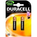 Элемент питания Duracell LR03-2BL Basic AAA 2 шт