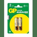 Элемент питания GP Super Alkaline 15A LR6 AA 2 штуп