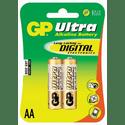 Элемент питания GP Ultra Alkaline 15AU LR6 AA 2шт уп