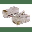 Коннектор TWT RJ45 UTP 8P8C 100 шт TWT-PL45-8P8C