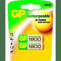 Аккумулятор GP 180AAHC-UC2 1800mAh AA 2шт