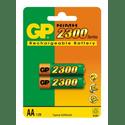 Аккумулятор GP 230AAHC-CR2 2300mAh AA 2шт