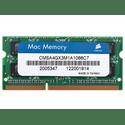 Модуль памяти Corsair SO-DIMM 4ГБ DDR3 SDRAM CMSA4GX3M1A1066C7