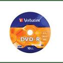 Диск Verbatim DVD-R 47ГБ 16x Matt Silver 43729