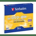 Диск Verbatim DVDRW 47ГБ 4x Matt Silver 43636