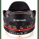 Объектив Samyang MF 75mm f35 AS IF UMC Fish-eye micro 43 Black