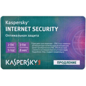 Программное обеспечение Kaspersky Internet Security Multi-Device Russian Ed 2-Device 1 year Renewal Card