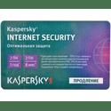 Программное обеспечение Kaspersky Internet Security Russian Edition 2-Device 1 year Renewal Card