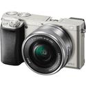 Фотоаппарат Sony Alpha ILCE-6000 kit 16-50mm титановый