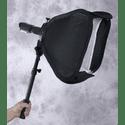 Аксессуар - Мобильный софт бокс 40 х 40 см раскладной с телескопической рукояткой
