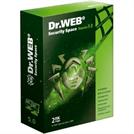 Программное обеспечение Dr Web Security Space картонная упаковка на 24 месяца  на 2 ПК