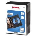 Бокс CD Hama H-51181 Slim для DVD 10 шт пластик черный