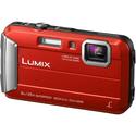 Фотоаппарат Panasonic Lumix DMC-FT30EE-R Red