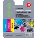 Картридж Cactus CS-BCI24CL цветной