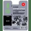 Картридж Cactus CS-BCI6BK черный