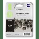 Картридж Cactus CS-EPT0551 черный