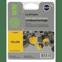 Картридж Cactus CS-EPT0634 желтый