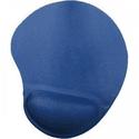 Коврик для мышки Buro BU-GEL с валиком синий