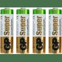 Элемент питания GP Super Alkaline 15ARS в спайке LR6 AA 4шт уп