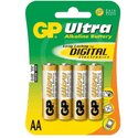 Элемент питания GP Ultra Alkaline 15AU LR6 AA 4шт уп