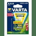 Аккумулятор VARTA 1000 mAh AAA 2 штуп
