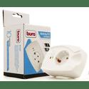 Сетевой фильтр Buro 100SH-W 1 розетка белый