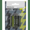Элемент питания Defender LR03-4B 56002