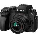 Фотоаппарат Panasonic Lumix DMC-G7KEE-K black kit 14-42mm f35-56 II APSH MEGA OIS