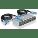 Переключатель-KVM D-Link DKVM-4K 4 ПК