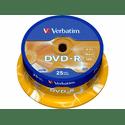Диск Verbatim DVD-R 47ГБ 16x Azo 43522
