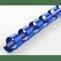 Пружины для переплета DSB Пластиковые 6мм100 штуп синий