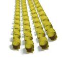 Пружины для переплета DSB Пластиковые 8мм100 штуп желтый