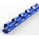 Пружины для переплета DSB Пластиковые 8мм100 штуп синий