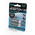 Аккумулятор Robiton AA 2600 mAh уп 2 шт