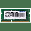 Модуль памяти Patriot SO-DIMM 8ГБ DDR3 SDRAM Signature Line PSD38G16002S