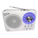 Радиоприемник Сигнал Luxele РП-113 белый USB SD