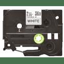 Плнка для наклеек эластичная Brother чрный шрифт на белой основе 9мм8м Brother TZE-FX221