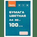 Бумага Buro A480гм2100лрозовый пастель общего назначенияофисная