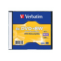 Диск Verbatim DVDRW 47ГБ 4x Matt Silver 43229 Jewel Case 1штуп