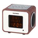 Радиобудильник Telefunken TF-1575U дерево темное