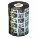 Красящая лента Zebra ВоскСмола 3200 черный 110 мм450 м 03200BK11045