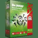 Программное обеспечение Dr Web Security Space Тршка картонная упаковка на 12 месяцев на 3 ПК