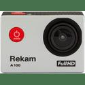Экшн-камера Rekam A100 серебристый