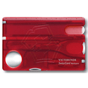 Швейцарская карта VICTORINOX SwissCard Nailcare Red 07240T