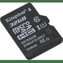 Карта памяти Kingston 32ГБ microSD HC UHS-I Class10 U1 Canvas Select SDCS32GBSP