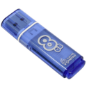USB Flash накопитель SmartBuy 8ГБ Glossy SB8GBGS-B