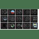 Игровой контроллер Logitech G Flight Instrument Panel 945-000008